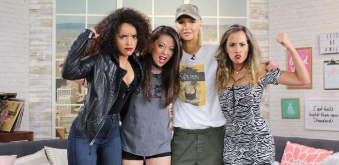 """Fashion Cover Girl Turned Singer, Magdalena  Stops By LATV's 'Get, It Girl! Show' To Talk About Her New Single, """"Sister Army!"""""""